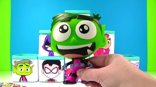 Teen Titans Go Boxes with Robin Starfire & Raven Surprises