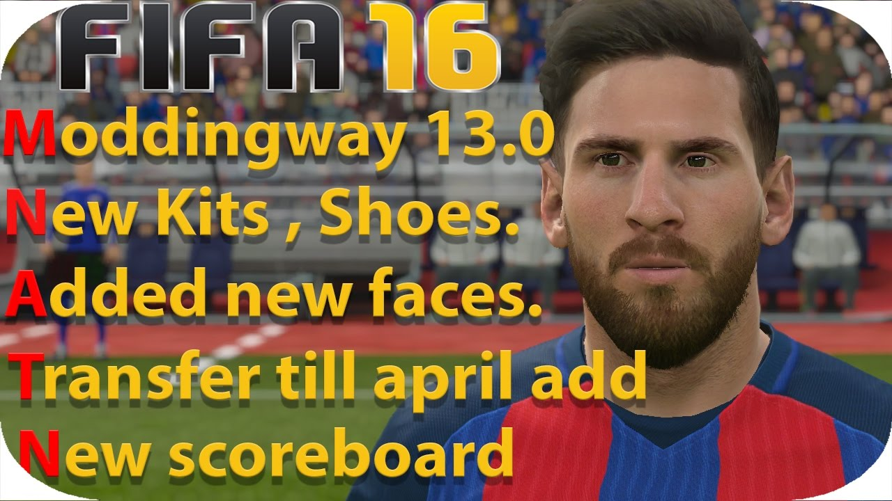 cf379c1e7 FIFA 16 Moddingway 13.0 Review - YouTube