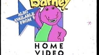Barney Home Video (1992-1995)
