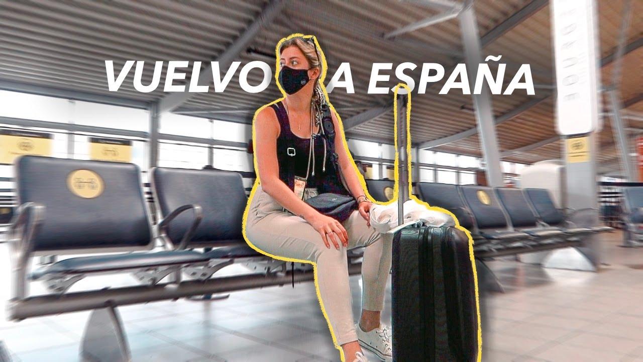 Así es VOLAR EN AVIÓN durante la PANDEMIA ✈ Mi viaje de Londres a España