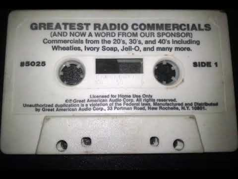 'Greatest Radio Commercials (...And Now - A Word From Our Sponsor)' - Full Album