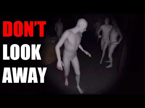 DON'T LOOK AWAY... (The Lost Residents Scary Game Gameplay)