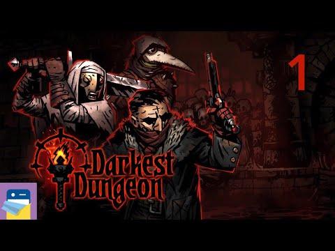 Darkest Dungeon Tablet Edition: iOS iPad Gameplay Walkthrough Part 1 (by Red Hook Studios)