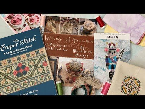 Flosstube Video #56 -January Stitching, Crochet, & A Whole Lotta Static