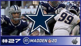 MADDEN 20   Dallas Cowboys Franchise S1   EP. 27   Week 15 vs. Rams