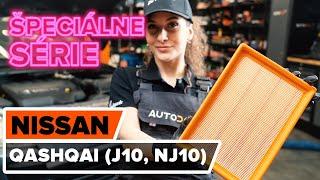 Ako vymeniť vzduchový filter na NISSAN QASHQAI (J10, NJ10) [NÁVOD AUTODOC]