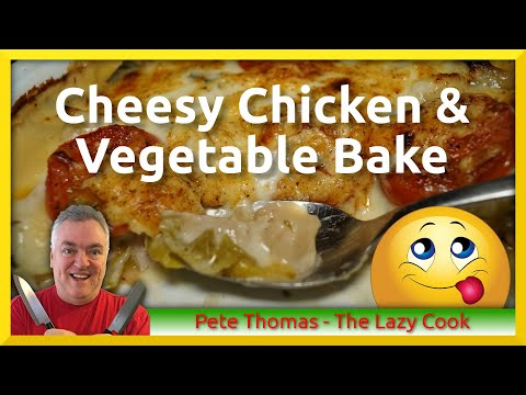 how-to-cook-cheesy-chicken-and-vegetable-bake-from-leftovers