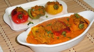 Bharwa Shimla Mirch Capsicum Video Recipe- Stuffed Bell Peppers Recipe by Bhavna