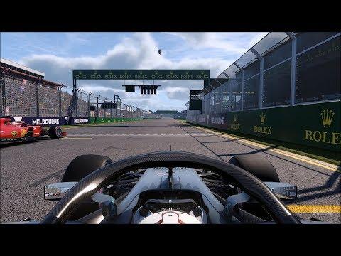 F1 2018 - Lewis Hamilton Gameplay (PC HD) [1080p60FPS]