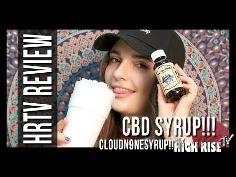 cbd syrup in my double cup macdizzle420 reviews cloud n9ne cbd syrup