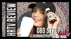 CBD SYRUP IN MY DOUBLE CUP!!! (MACDIZZLE420 Reviews Cloud N9ne CBD Syrup)