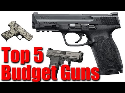 Top 5 Budget Pistols - YouTube