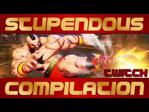 SFV streaming about - Stupendous Zangief - ranked replay matches compilation
