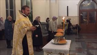 Всенощное бдение в канун памяти святителя Спиридона Тримифунтского. Видео обзор