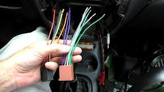 Установка процессорной магнитолы своими руками в дэу матиз, подключение проводов и проверка звука