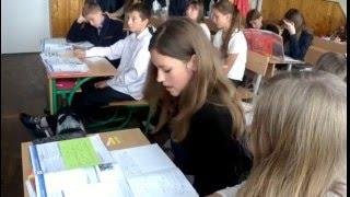 Урок англійської мови у Заліщицькій державній гімназії.  Тема: «Спорт»