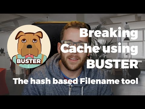 Tutorial for BUSTER, cache busting based on hashed filename