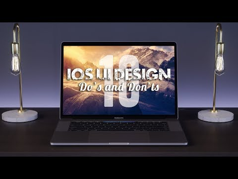 10 iOS Ui Design Tips (Do's and Don'ts)