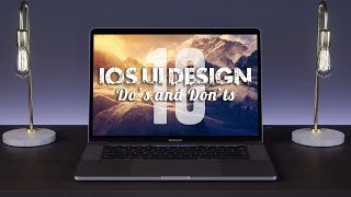 10 iOS Ui Design Tips (Do's and Don'ts)