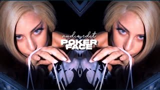 Sorry for the bad quality of video but focus here is audio, that u can use your edits :) has 2 parts you to !!song: poker face ...