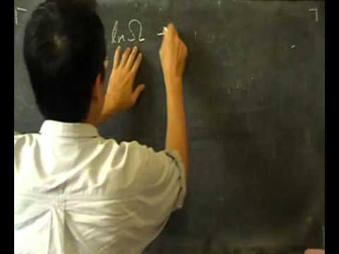 Boltzmann distribution -- Basic Statistical Mechanics