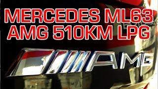 Montaż LPG Mercedes ML 63 AMG z V8 510KM w Energy Gaz Polska na gaz BRC SQ P&D