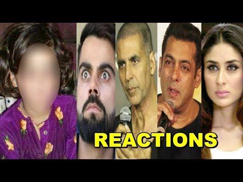 Bollywood Celebs SAD & ANGRY Reaction On Kashmiri Little Girl's SHOCKING Incident In Khatua