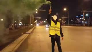 Смотреть видео Акция в поддержку задержанных активистов (СПБ)  05.04.19 // Самара // онлайн