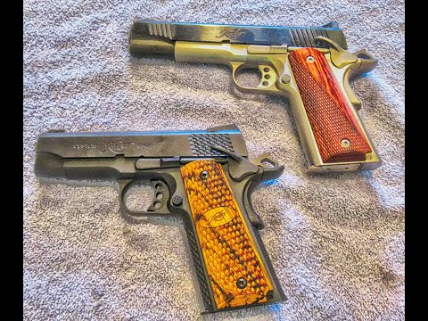 Full Size 1911 pistol vs Carry Size 1911