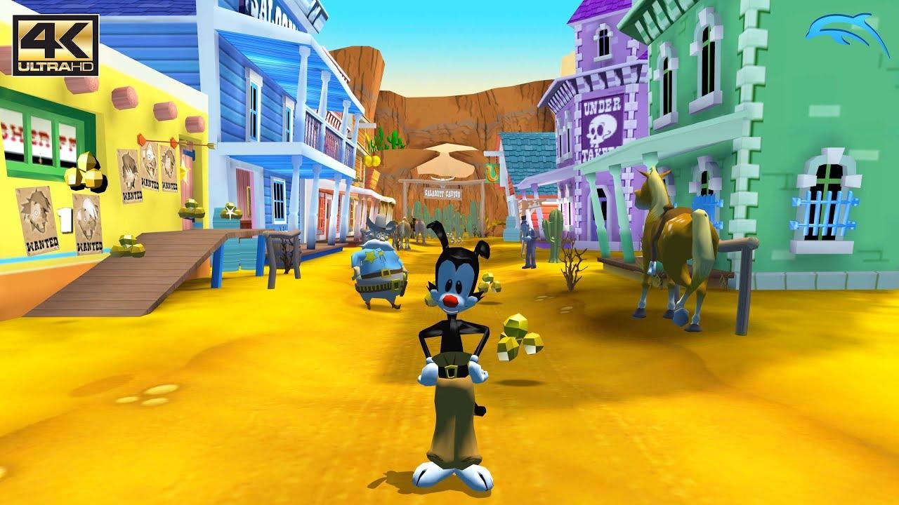 Animaniacs: The Great Edgar – Gamecube Gameplay 4K 2160p (DOLPHIN)