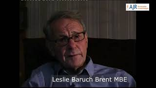 Leslie Brent discusses how he came to be interviewed by the BBC