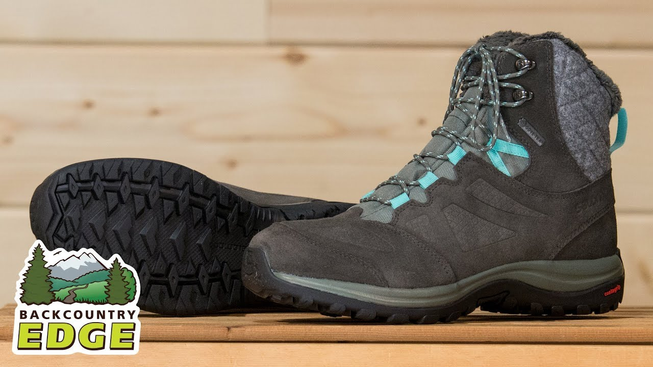 prix compétitif 414ed 14686 Salomon Women's Ellipse Winter GTX Insulated Boot