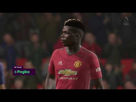 FIFA 19 Gameplay Manchester United vs Chelsea Full Game | FIFA 19 EA Access