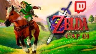 The Legend Of Zelda Ocarina Of Time Pt 1 (Conociendo a Link)