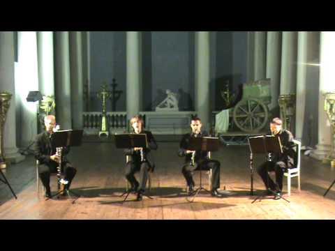 Брамс\Венгерский танец №1\Brahms\Hungrian Dance№1 KRAFT Klarinet Kvartet