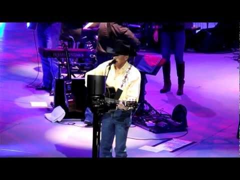 George Strait - Folsom Prison Blues & Cowboy Rides Away in (HD). Scottrade, St. Louis, MO 2/17/12.