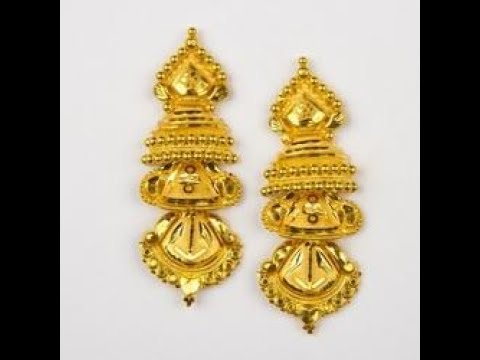 Unique Gold Earrings Designs