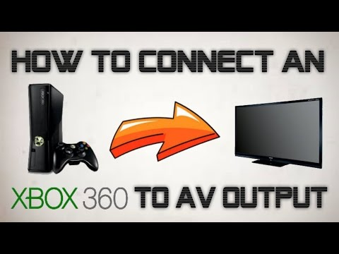 HOW TO CONNECT XBOX 360 TO YOUR TV! Without an HDMI Cable - YouTube