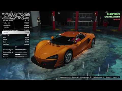 GTA 5 Online Progen Itali GTB Full Tuning + Test Neues Auto / Import Export DLC