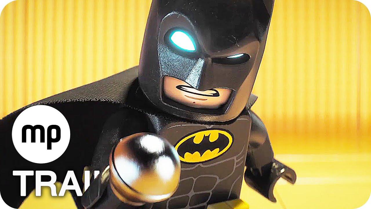 THE LEGO BATMAN MOVIE Trailer German Deutsch (2017)