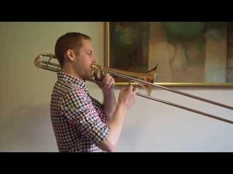 C Major Scale - Trombone