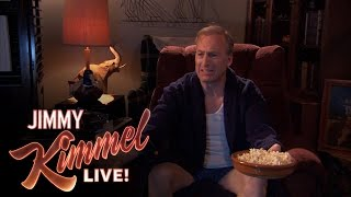 Bob Odenkirk's Special Clip For Jimmy Kimmel