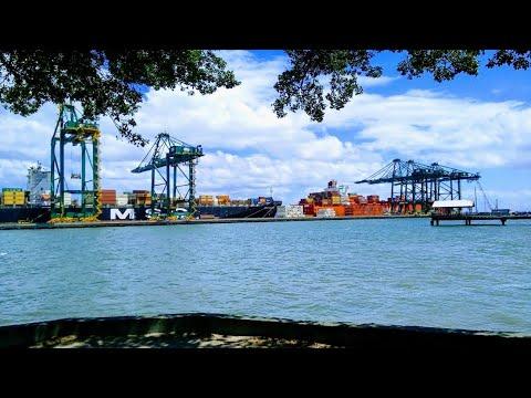 Itapoá SC O Porto Itapoá e a Av Beira Mar III