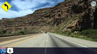 (9) The Journey West II: Flirting with the Colorado (I-70 East, DeBeque Canyon)