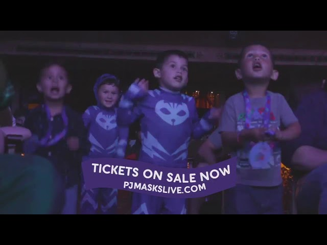 Latin American Spanish -  PJMasks Live - TV SPOT IN SPANISH