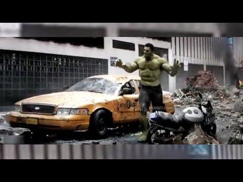 Hulk Funny Moments In Avenger Endgame