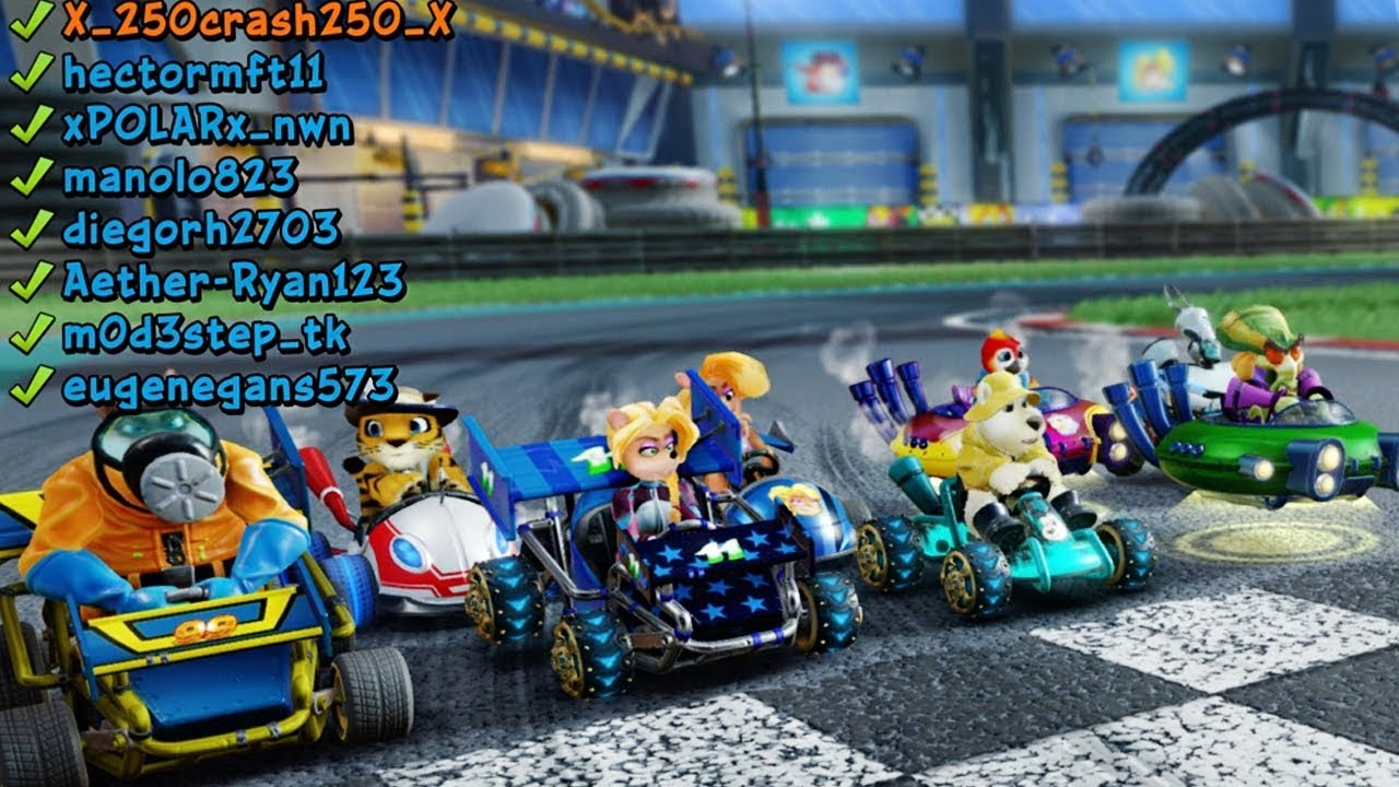 Download CTR Nitro-Fueled Online - Races with very good players   Full Races #6