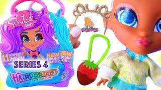 КУКЛЫ С АРОМАТОМ Hairdorables Dolls Scented 4 СЕРИЯ Обзор  Распаковка  Май Тойс Пинк