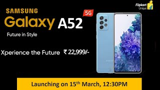 Samsung Galaxy A52 5G India Launch & Price Confirm | Everything You Need to Know Samsung Galaxy A52