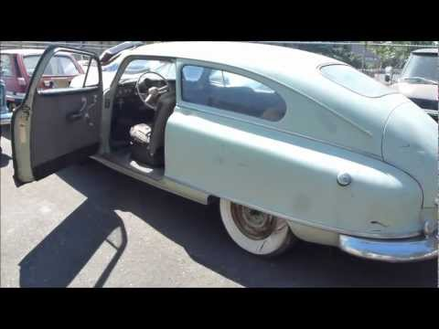1949 Nash Ambassador Airflyte ( ....a True Time Capsule )